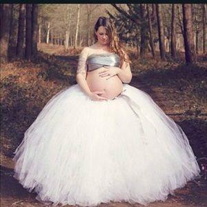 Maternity tutu skirt